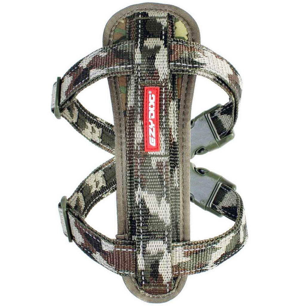 15% OFF: EzyDog® Chest Plate Custom Fit Harness - Camo (7 sizes)
