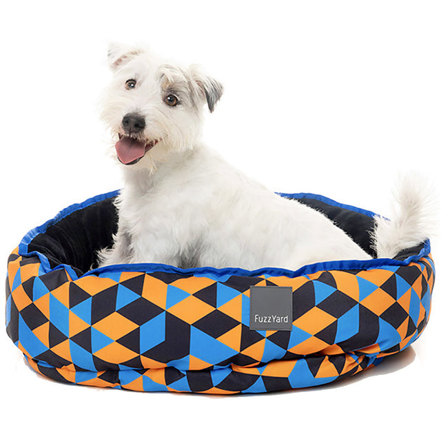 30% OFF [CLEAR]: FuzzYard® Reversible Dog Bed – Amsterdam (3 sizes)