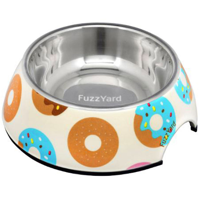 10% OFF: FuzzYard® Go Nuts for Donuts Pet Bowl (3 sizes)