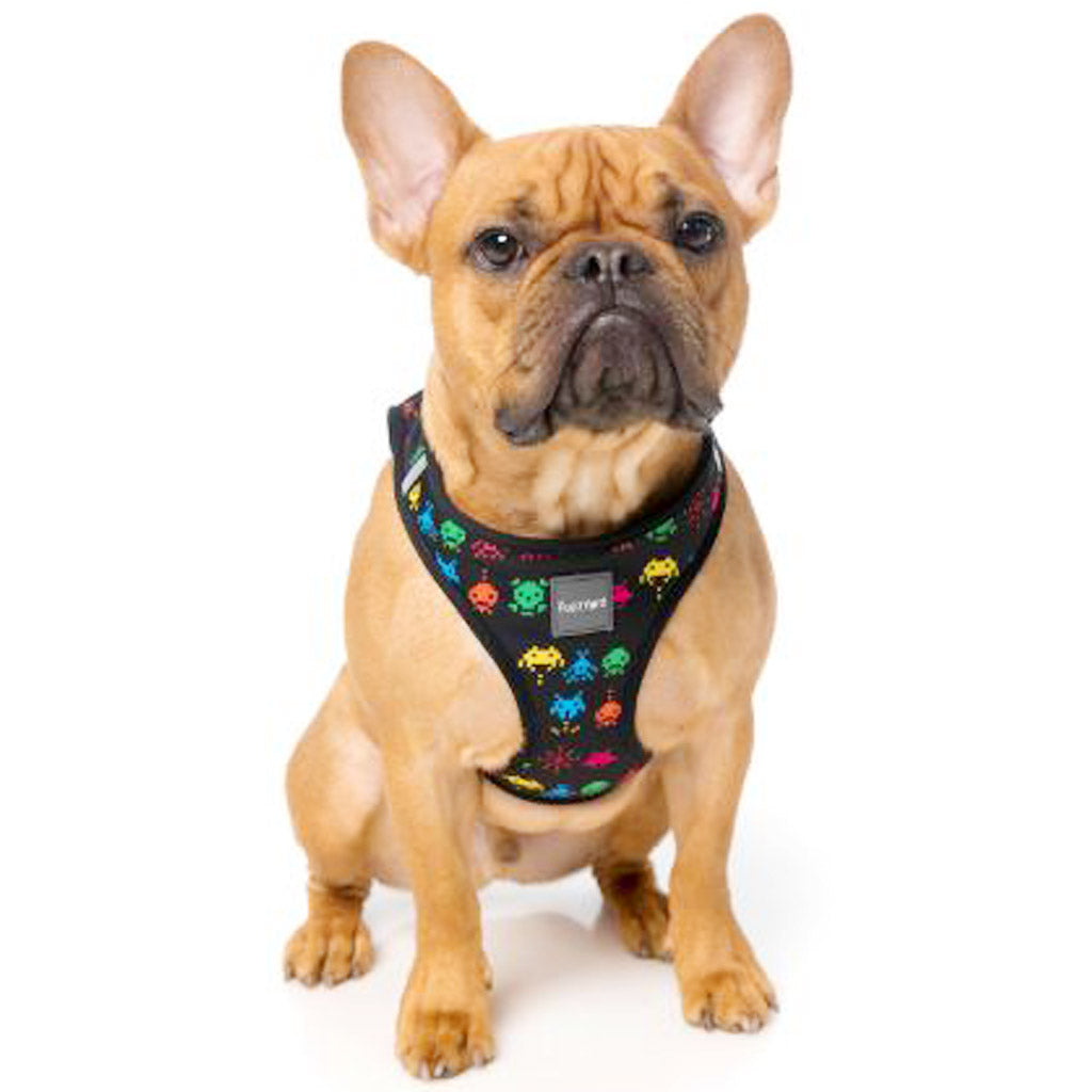 15% OFF [NEW]: FuzzYard® Space Raiders Step In Dog Harness (2 sizes)
