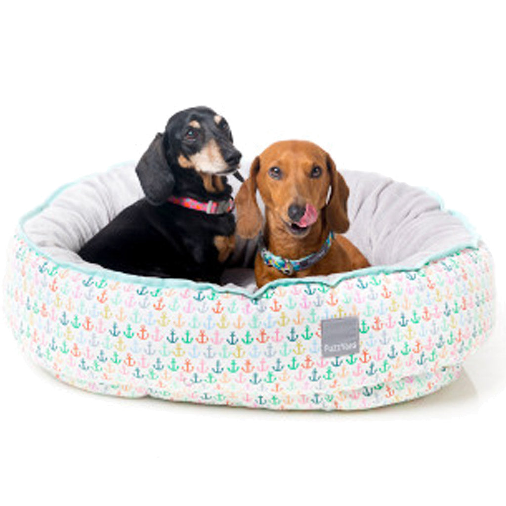 20% OFF: FuzzYard® Reversible Dog Bed - Ahoy! (3 sizes)