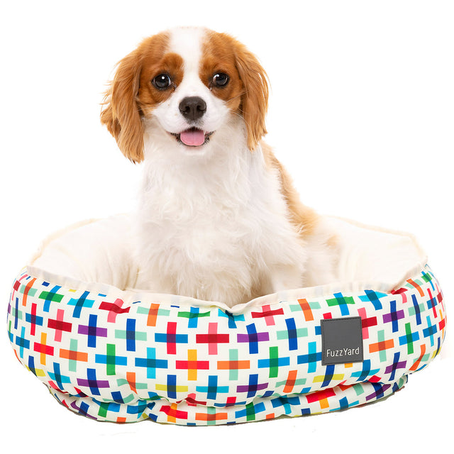 20% OFF + FREE TREATS [NEW]: FuzzYard® Reversible Dog Bed - Jenga (3 sizes)