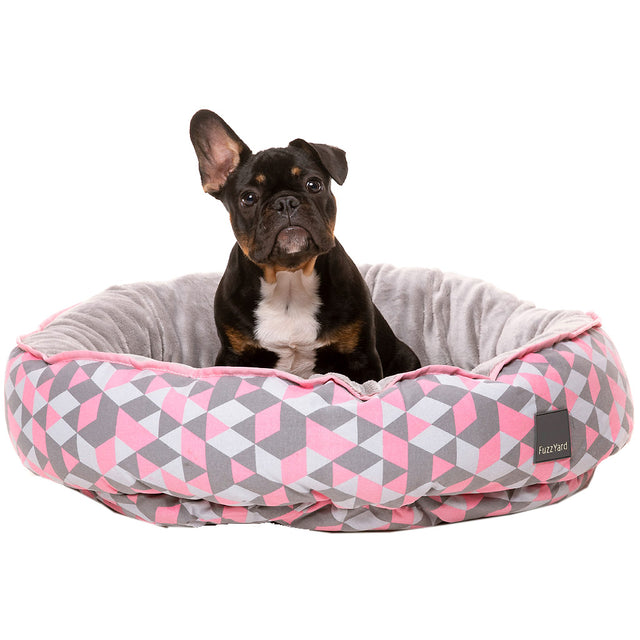 20% OFF + FREE TREATS [NEW]: FuzzYard® Reversible Dog Bed - Morganite (3 sizes)