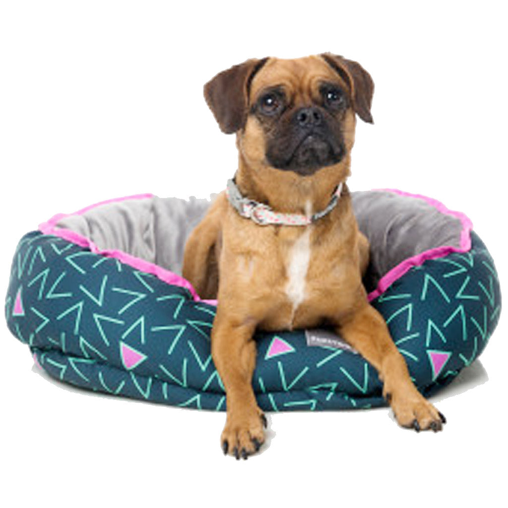 15% OFF: FuzzYard® Reversible Dog Bed - Voltage (3 sizes)