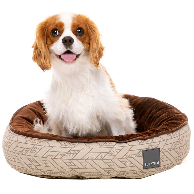 20% OFF + FREE TREATS [NEW]: FuzzYard® Reversible Dog Bed - Wilshire (3 sizes)
