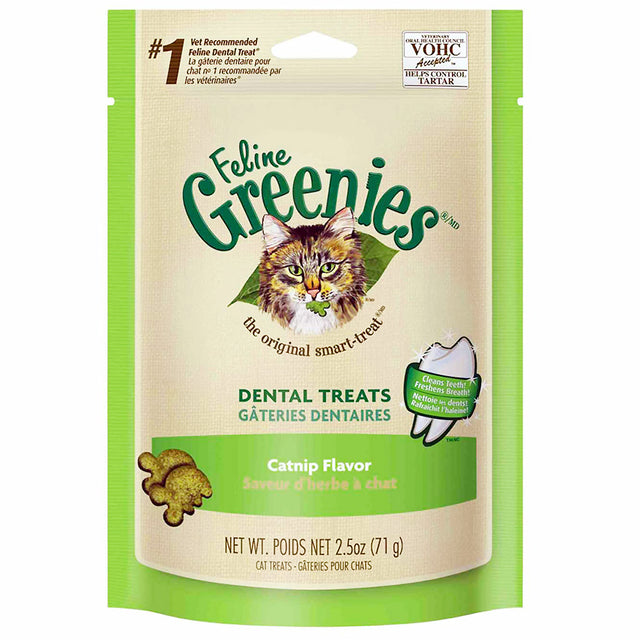 2 FOR $14: Greenies® Feline Catnip Dental Cat Treats (71g)