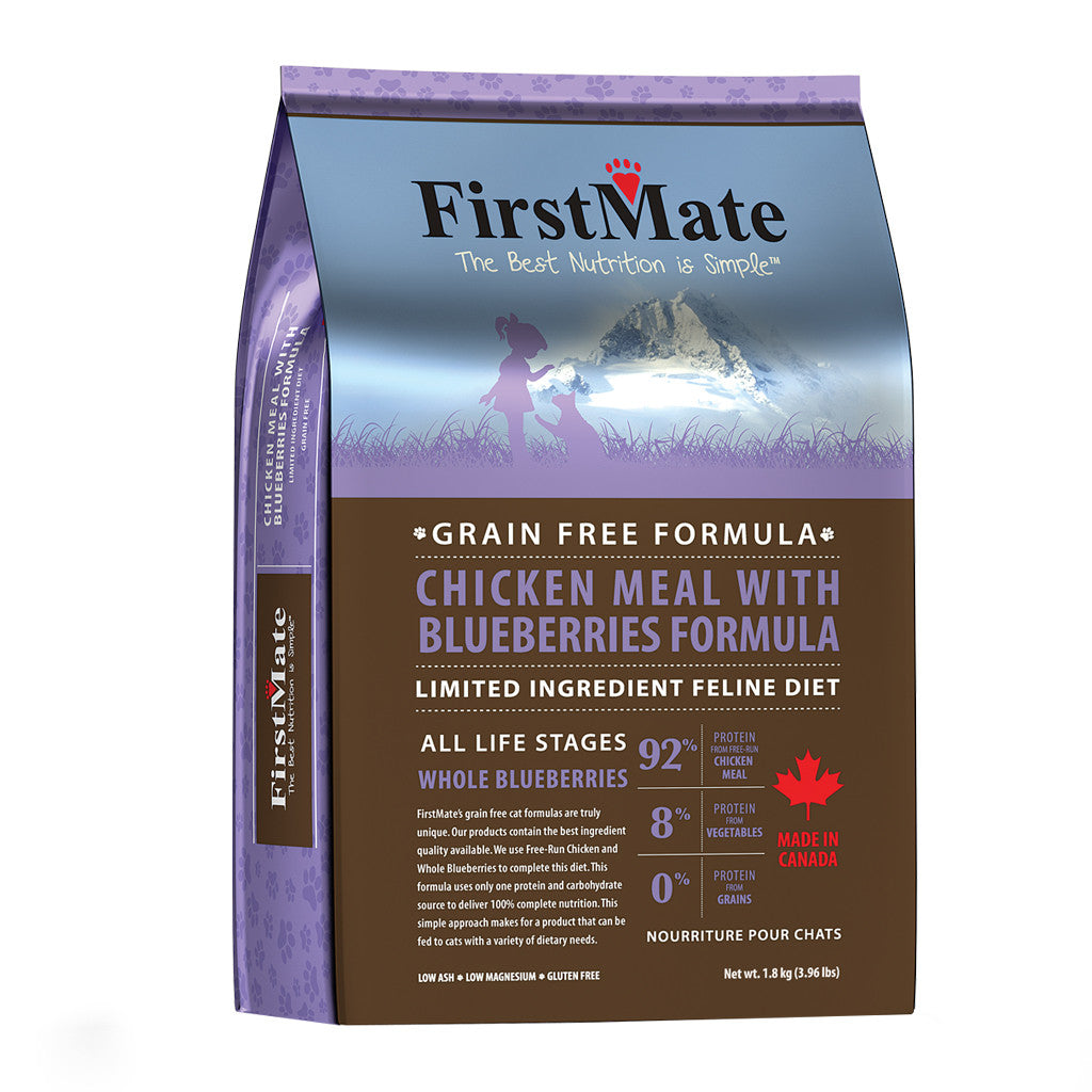 [BFCM –15%] FirstMate® Grain-Free Chicken Meal With Blueberries Dry Cat Food