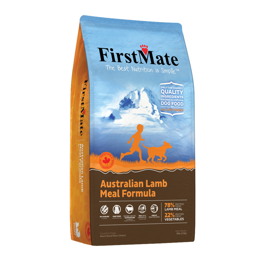 20% OFF: FirstMate® Australian Lamb Grain & Gluten Free Dry Dog Food (3 sizes)
