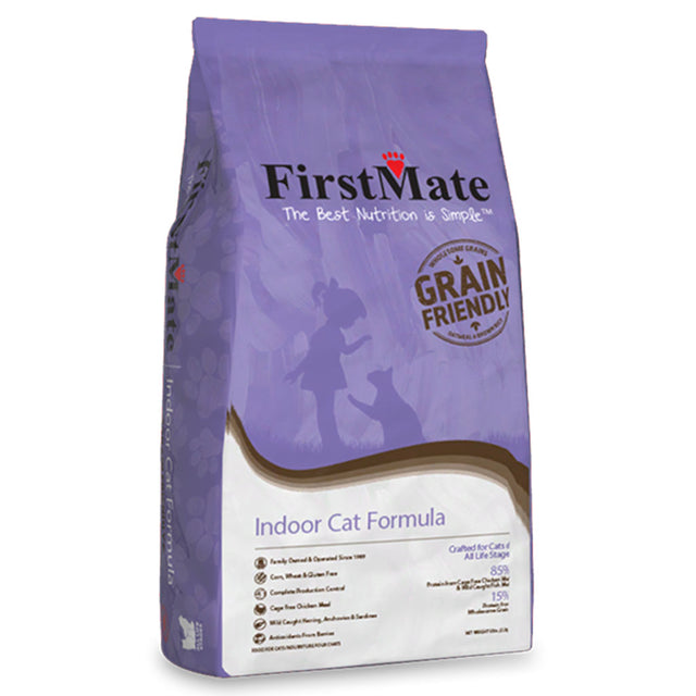 20% OFF: FirstMate® Grain-Friendly Indoor Cat Formula Dry Cat Food (2 sizes)