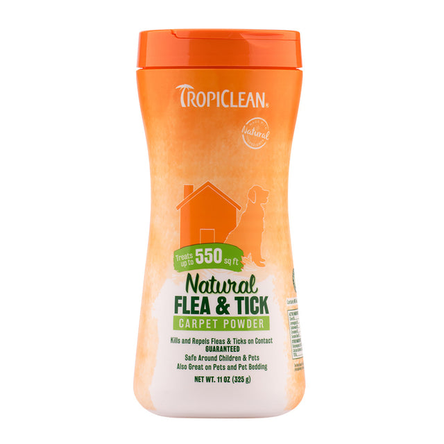 20% OFF: Tropiclean® Natural Flea & Tick Carpet & Pet Powder (325ml)