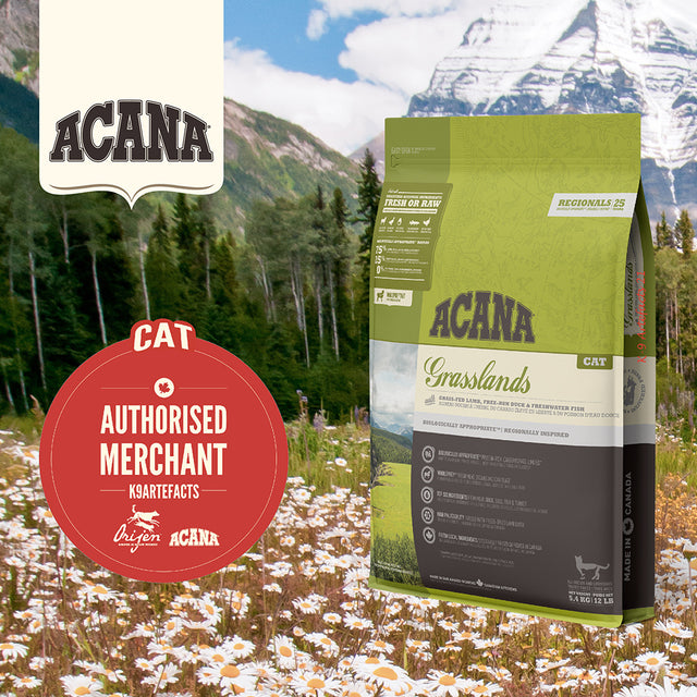 30% OFF + FREE GIFT [11.11]: ACANA® Regionals Grasslands Dry Cat Food (2 sizes)