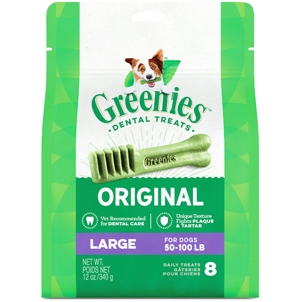 3 FOR $58 [SAVER]: Greenies® Original Large Dental Dog Treats - 8pcs (340g)