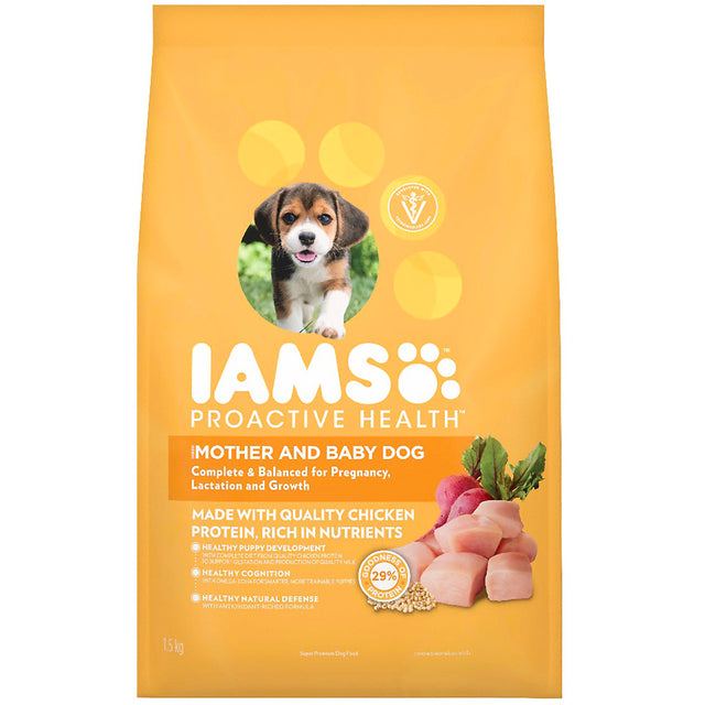 25% OFF [NEW]: IAMS® ProActive Health Puppy Small Breed Dry Dog Food (3 sizes)