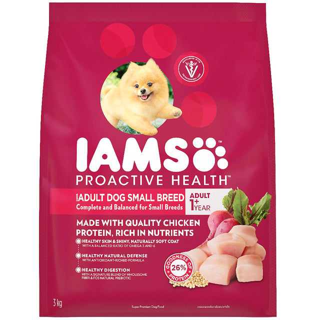 25% OFF [NEW]: IAMS® ProActive Health Adult Small Breed Dry Dog Food (3 sizes)