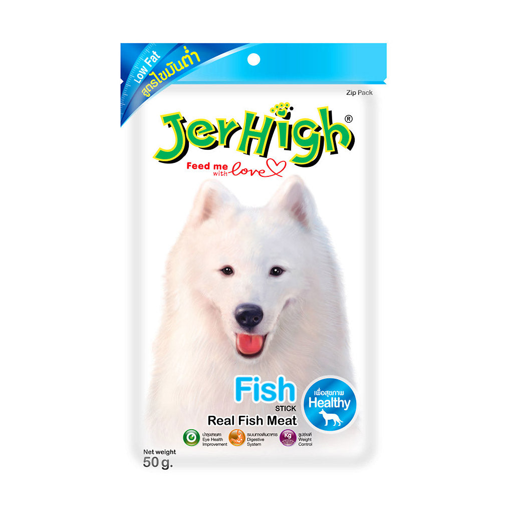 [CNY: BUY 3@10] JerHigh® Fish Stick Dog Treats