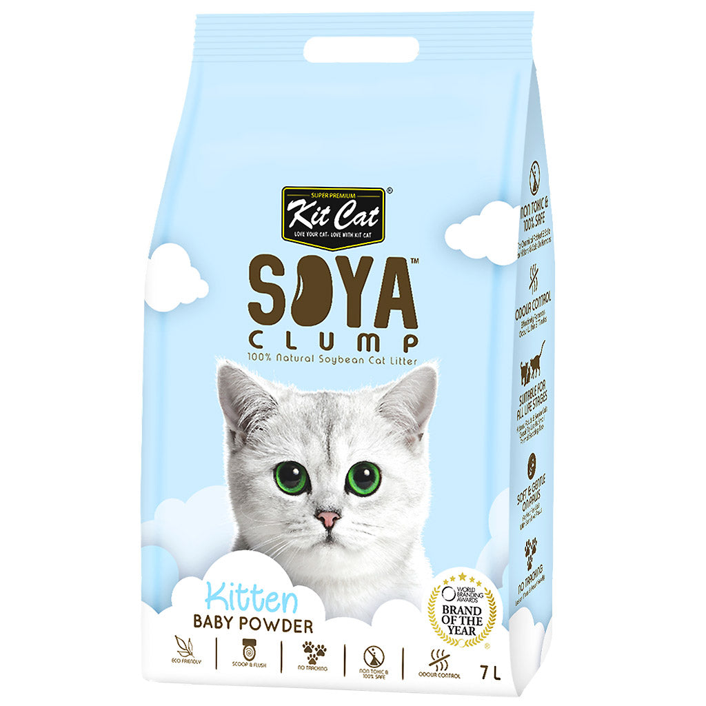 6 FOR $42 [SAVER]: Kit Cat® Soya Clump Eco-Friendly Cat Litters (8 Flavours)