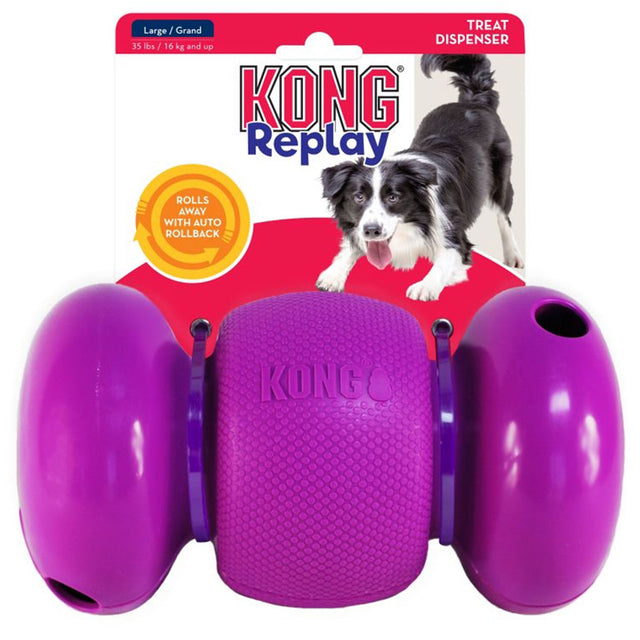 15% OFF [NEW] KONG® Replay Dog Toy (2 sizes)