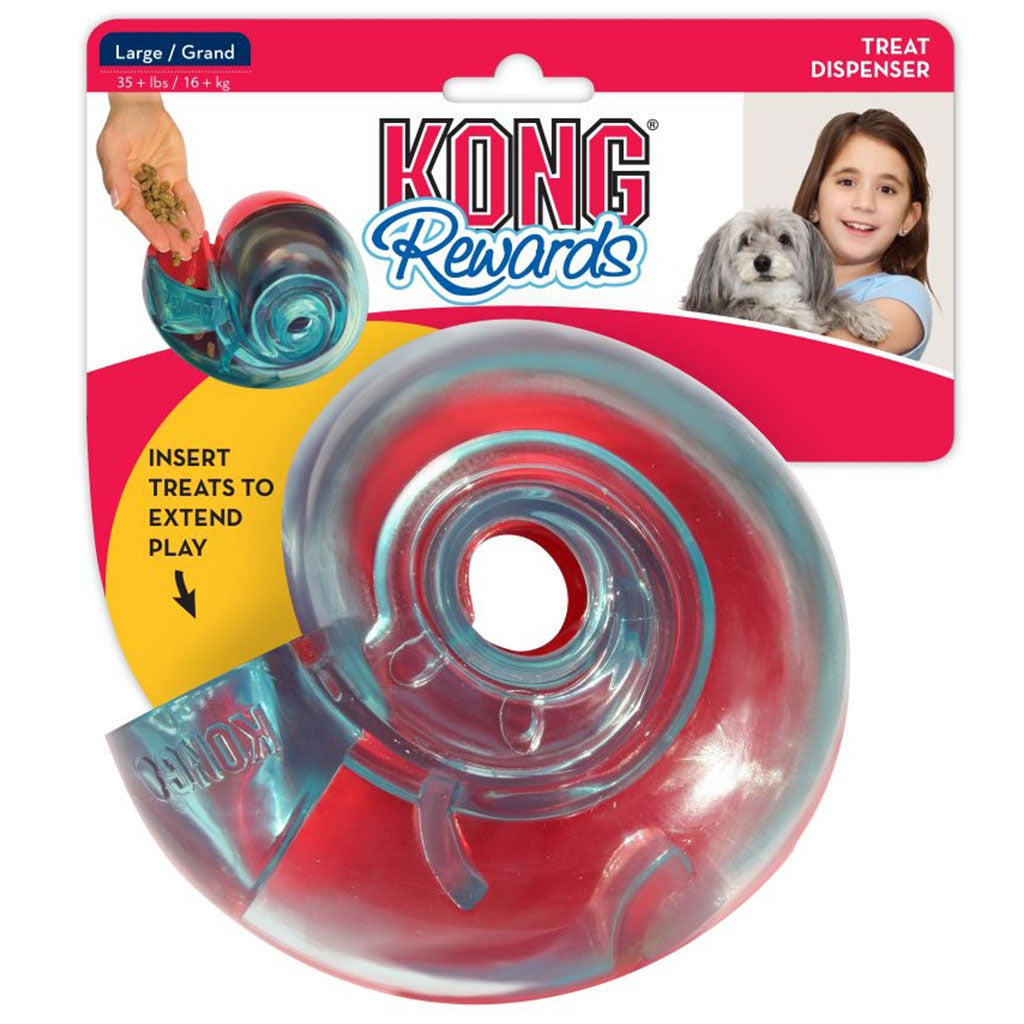 20% OFF: KONG® Rewards Shell Dog Toy (2 sizes)