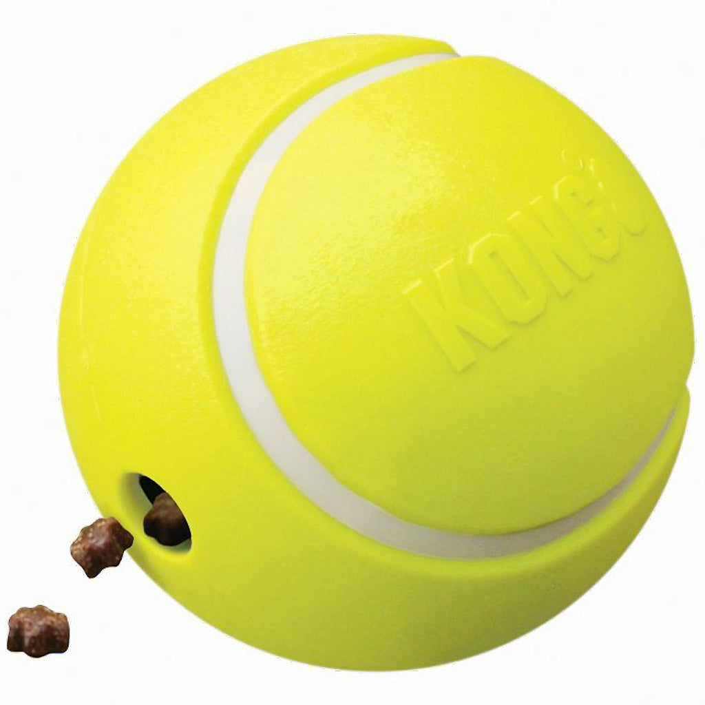 20% OFF [NEW]: KONG® Rewards Tennis Dog Toy (2 sizes)
