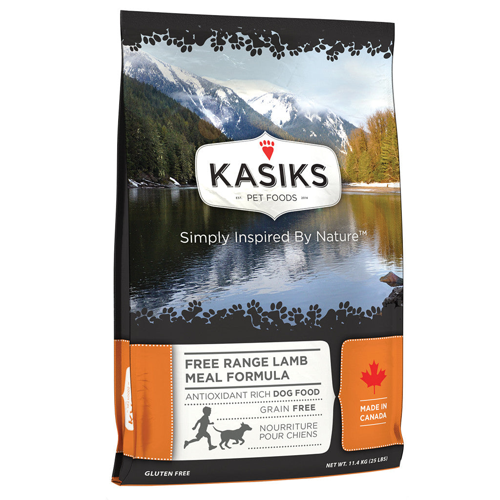 20% OFF + FREE CANS: Kasiks® Grain-Free Free Range Lamb Meal Formula Dry Dog Food (2 sizes)