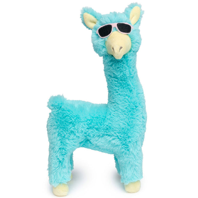 10% OFF [NEW] FuzzYard® Kendra Llama Plush Dog Toy – Teal