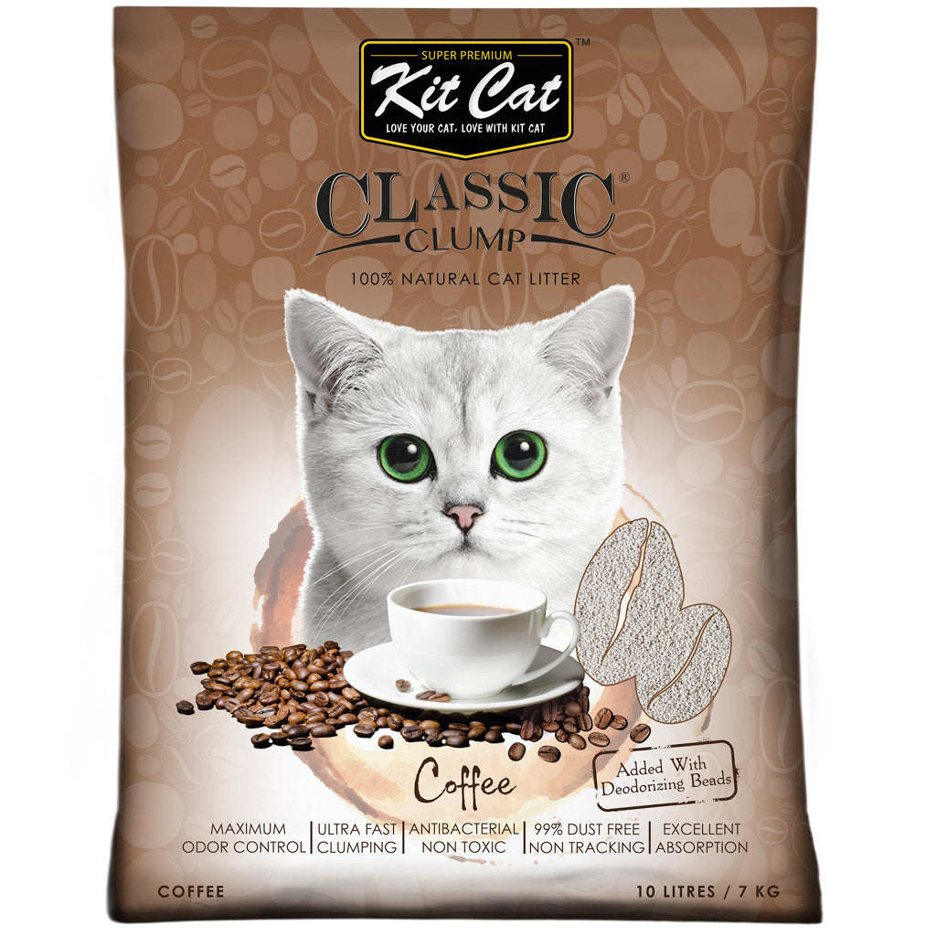 [SALE] Kit Cat® Classic Clump Coffee Cat Litter (10L)