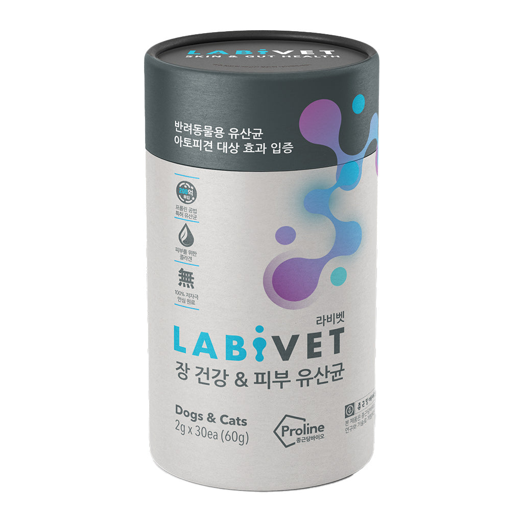 Labivet® Probiotics For Dogs & Cats Supplement (30 x 2g)