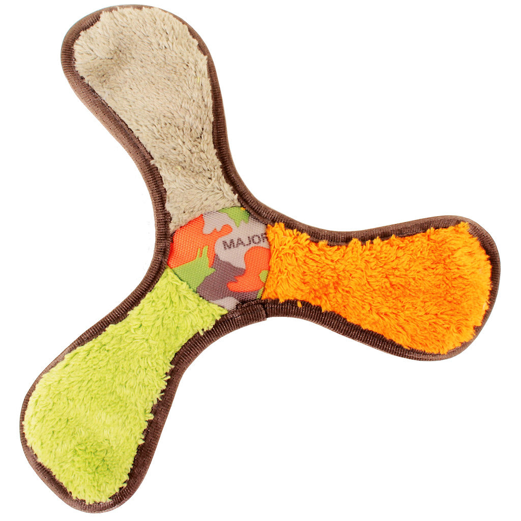 40% OFF [NEW]: Major Dog® Squeaky Plush Boomer Dog Toy