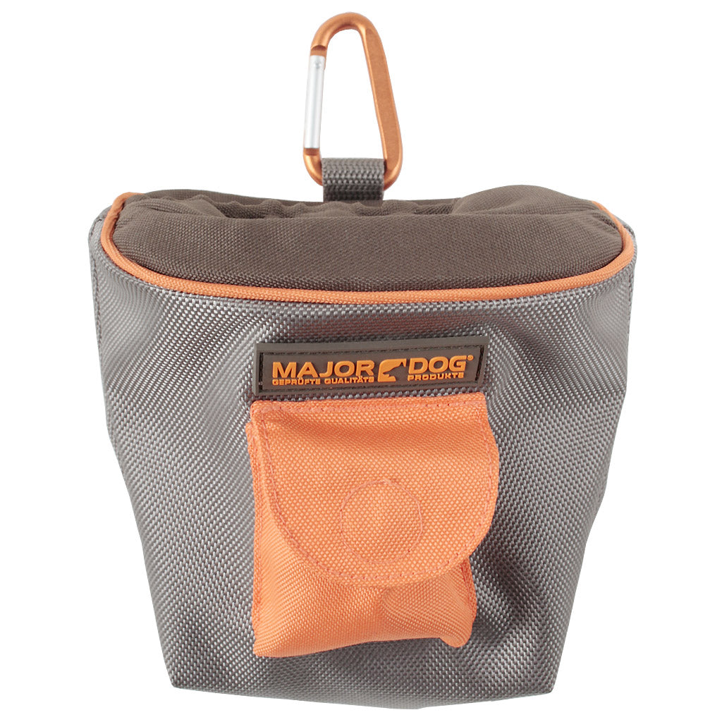 $12 ONLY: Major Dog® Pet Treat Bag with Easy-Clip & Front Pouch