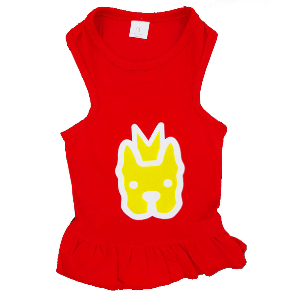 $8 ONLY [CNY21]: MOBY'S® CNY Dress for Dogs & Cats - Red (4 sizes)