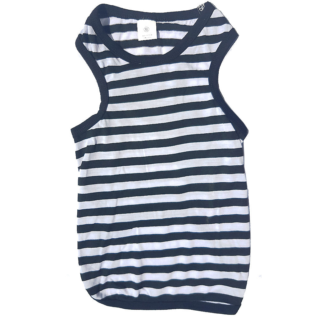 40% OFF: MOBY'S® B&W Tank Top for Dogs & Cats (4 Sizes)
