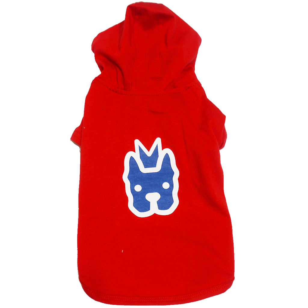 60% OFF: MOBY'S® T-Shirt Hoodie Red for Dogs & Cats (8 sizes)
