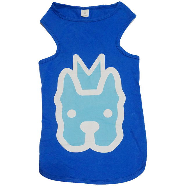 60% OFF: MOBY'S® Tank Top for Large Dogs - Blue (3 Sizes)