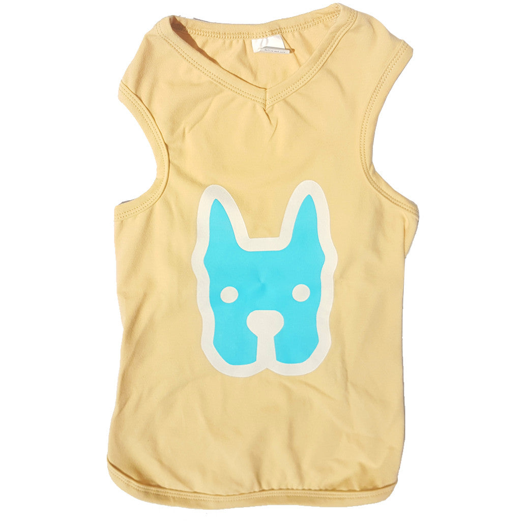 60% OFF: MOBY'S® Tank Top Beige (Small Dog)