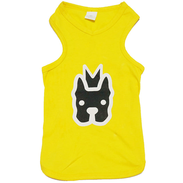 60% OFF: MOBY'S® Tank Top Yellow (Small Dog)
