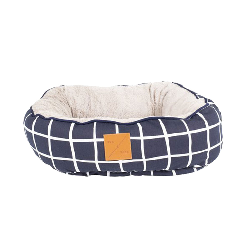 20% OFF [NEW]: Mog & Bone® Reversible Cat Bed - Navy Check
