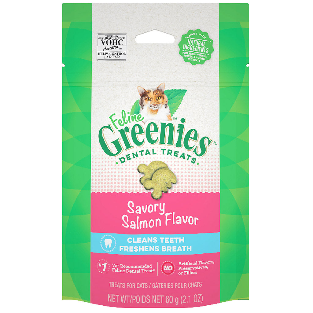 2 FOR $14 [11.11]: Greenies® Feline Cat Dental Treats 60g (4 Flavours)