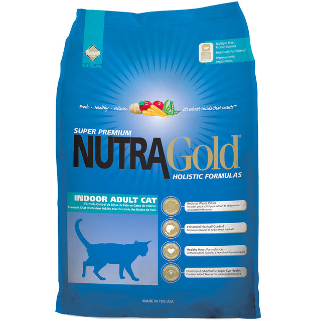 35% OFF: NutraGold® Holistic Indoor Cat Dry Food (2 sizes)