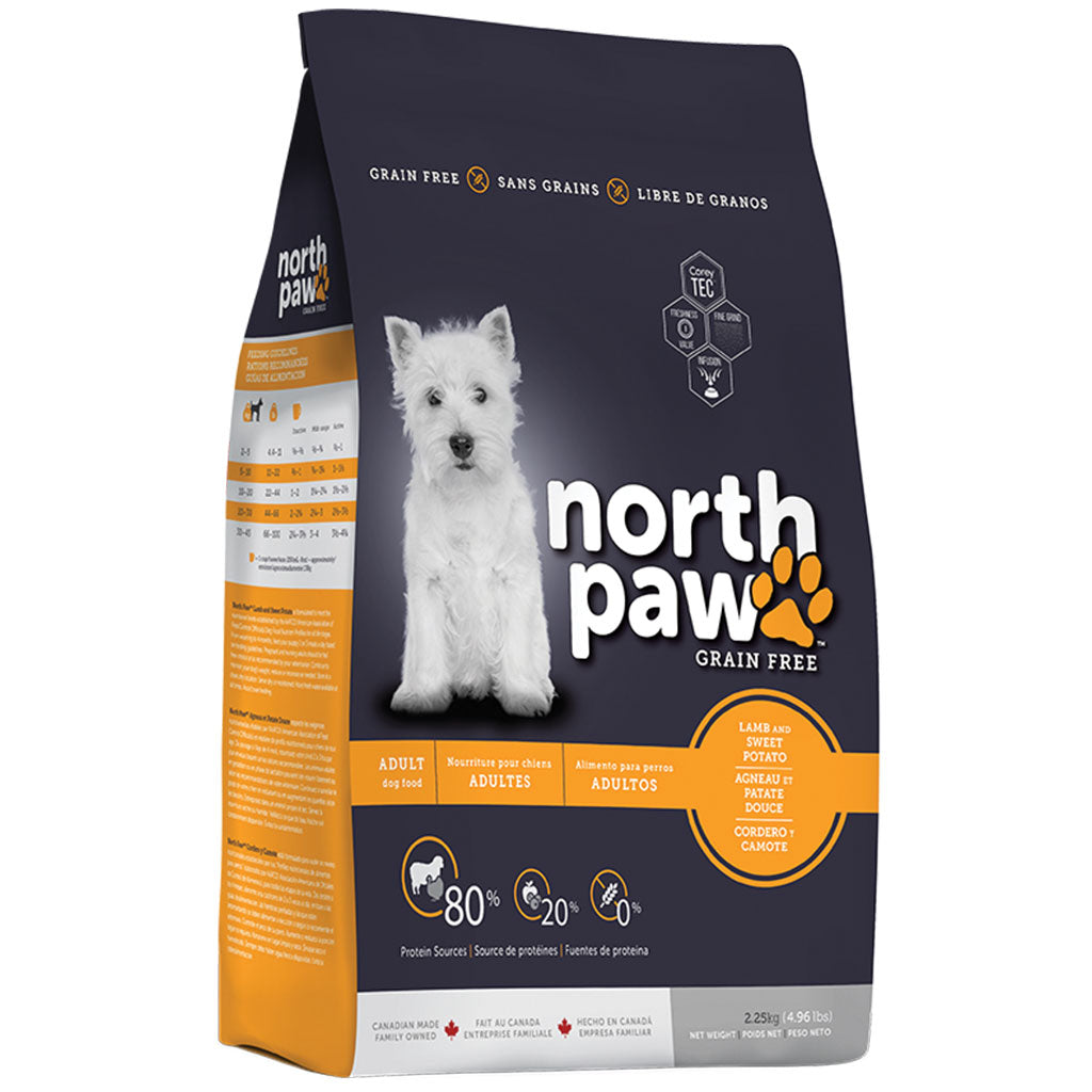 35% OFF [GSS20]: North Paw® Grain-Free Lamb & Sweet Potato Dry Dog Food (2 sizes)