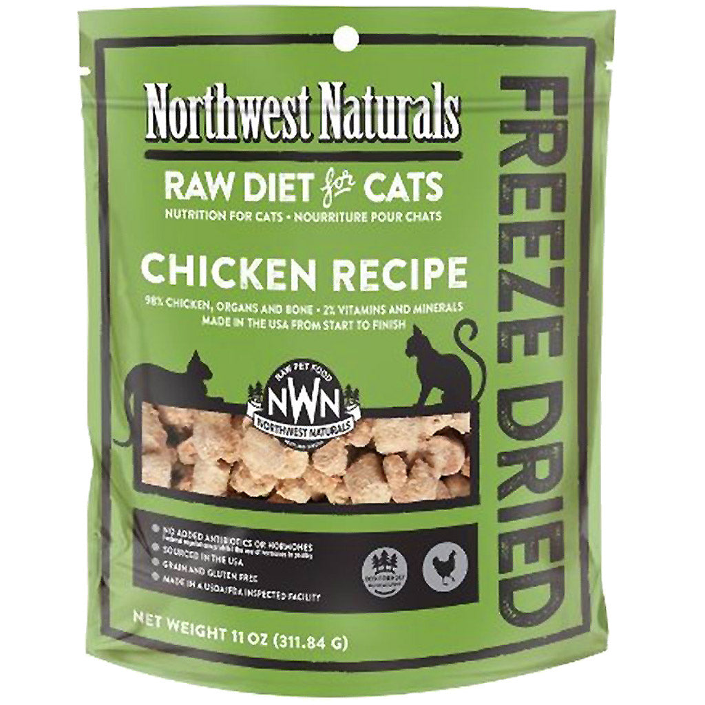 30% OFF: Northwest Naturals® Freeze-Dried Chicken Nibbles Cat Food (2 sizes)