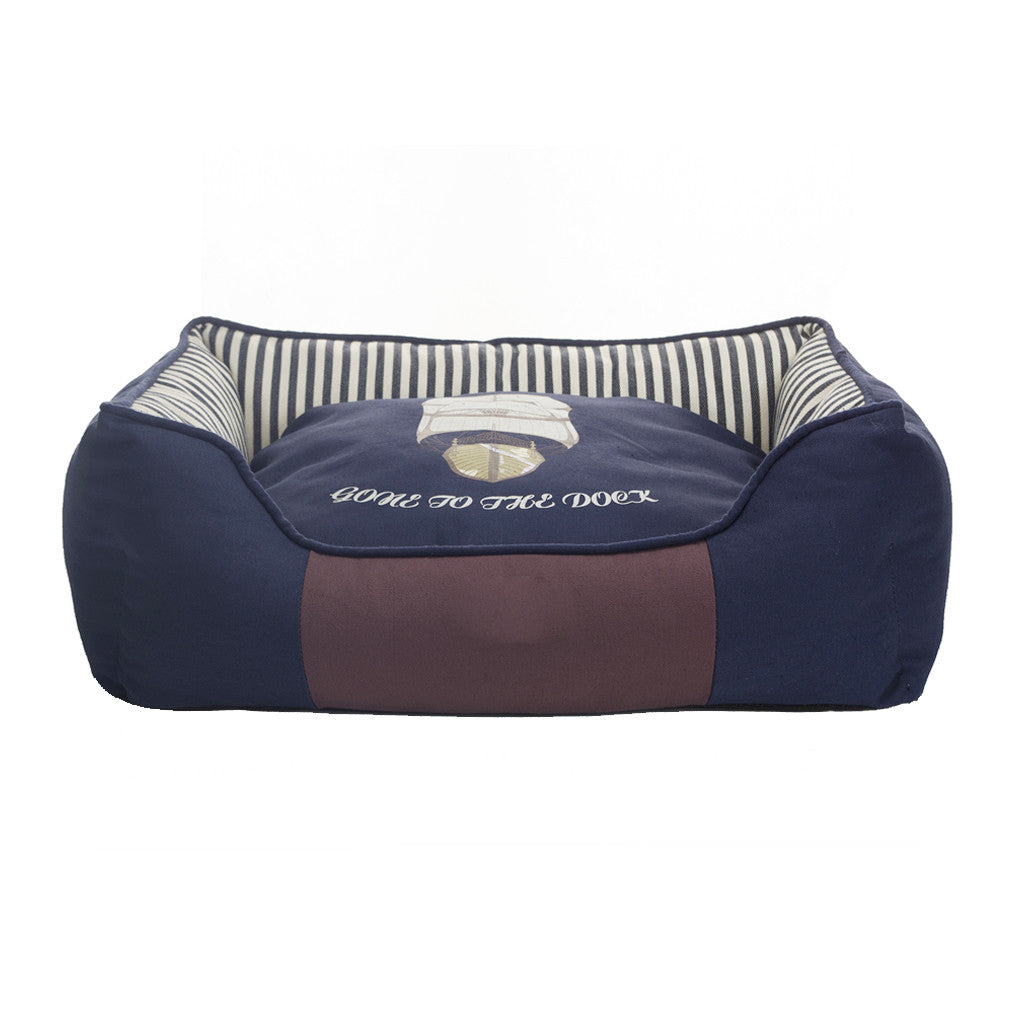 40% OFF: MOBY'S® Navy Collection Dog & Cat Bed