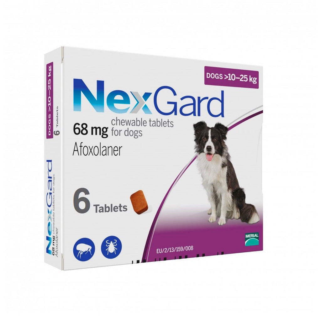 35% OFF: NexGard® Chewies For Large Dogs (10–25kg)