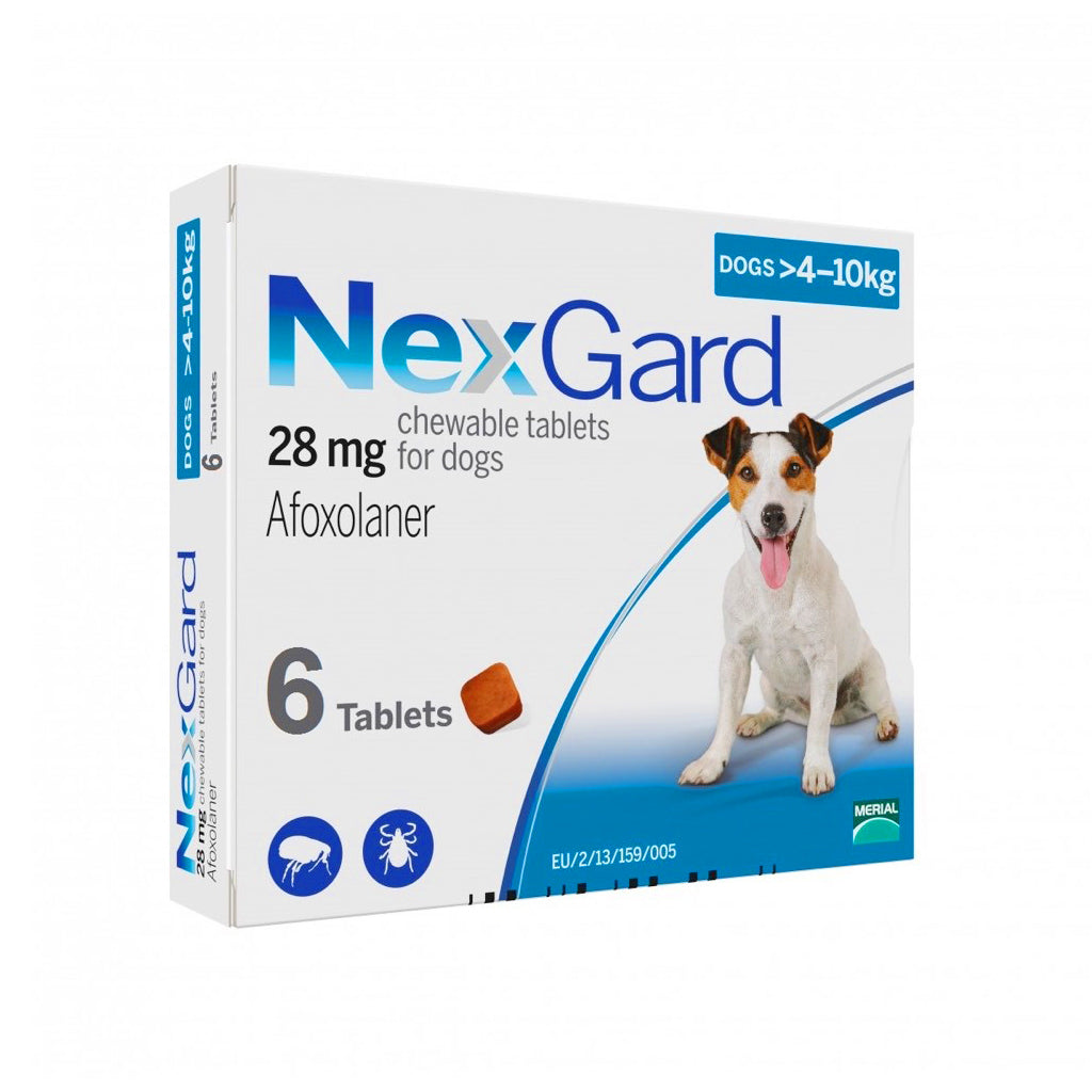 30% OFF: NexGard® Chewies For Small Dogs (4–10kg)