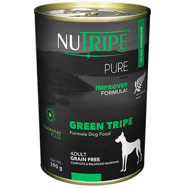 25% OFF: Nutripe® PURE Green Tripe Formula Grain-Free Canned Dog Food (6/12pcs)