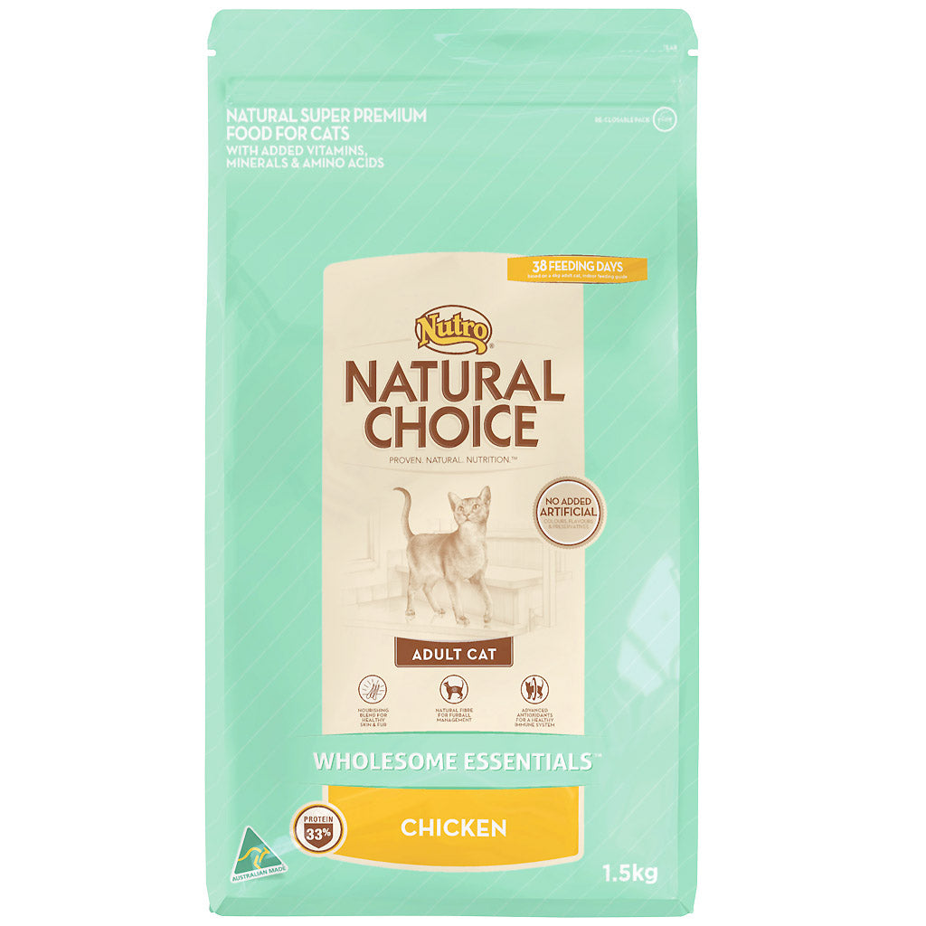 30% OFF: Nutro® Wholesome Essentials Chicken Adult Dry Cat Food (2 Sizes)