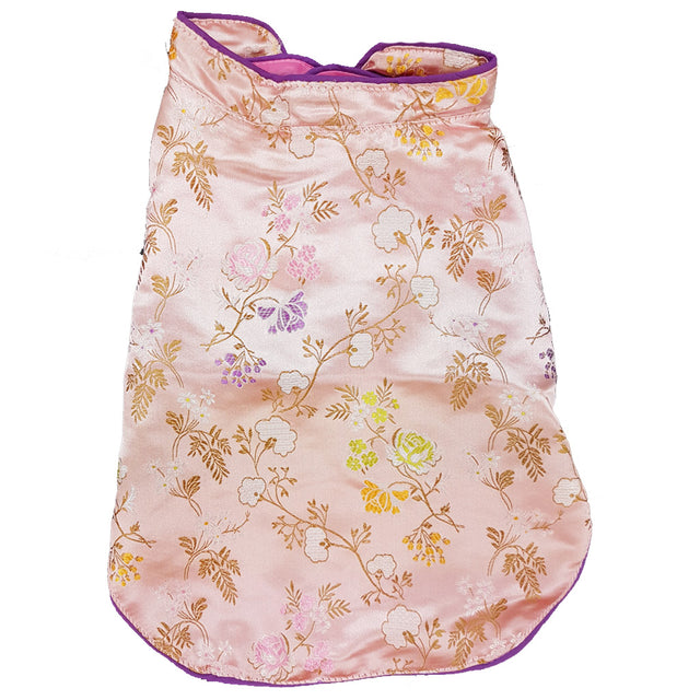 28% OFF [CNY20]: MOBY'S® Oriental Tang Jacket Pink (Small & Medium Dogs)