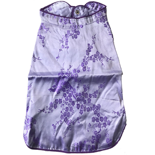 28% OFF [CNY20]: MOBY'S® Oriental Tang Jacket Purple (Small & Medium Dogs)