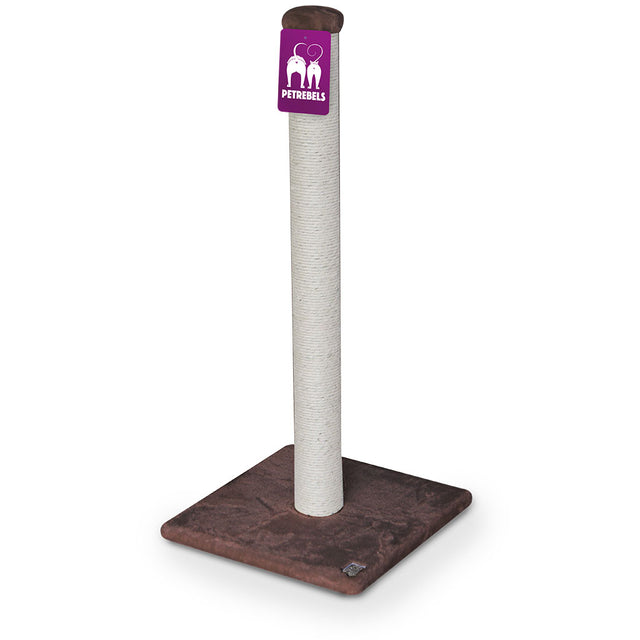 10% OFF [NEW]: Petrebels® Maine 90 Scratching Post - Chocolate
