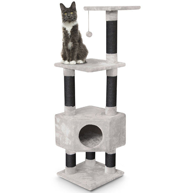 15% OFF [NEW] Petrebels® Elizabeth 135 Cat Tree - Royal Cream