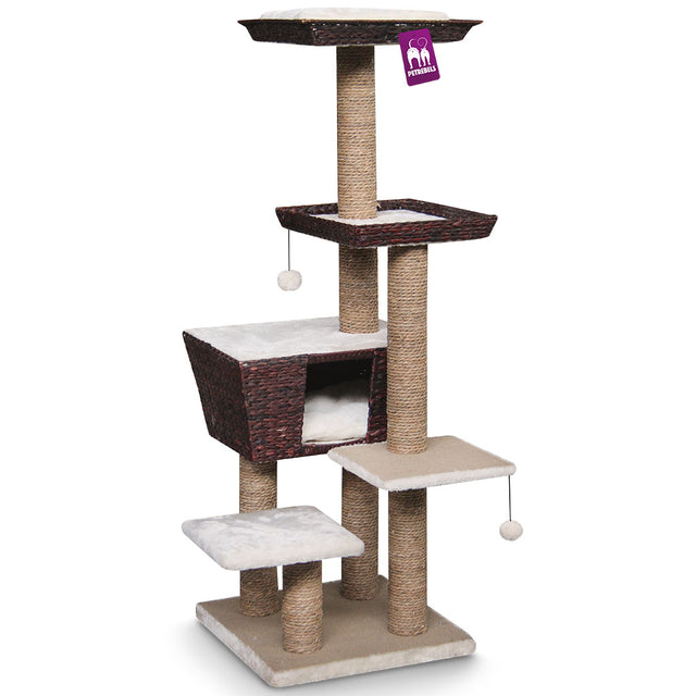 15% OFF [NEW]: Petrebels® Carribean Love 141 Cat Tree - Water Hyacinth